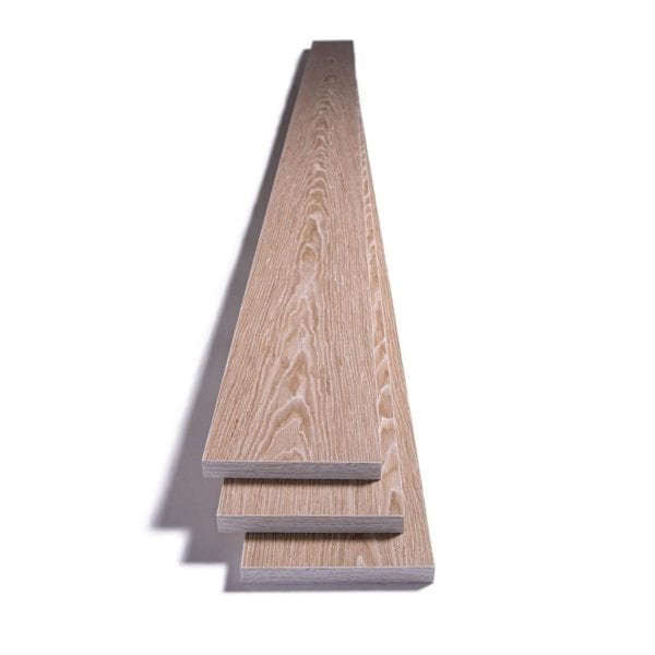 three stacked hoarfrost acoustic planks